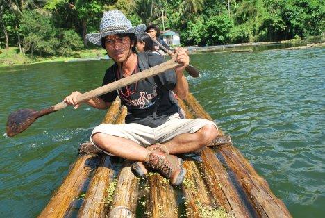 BatangRizal Adventure Team exploring Calibato Lake