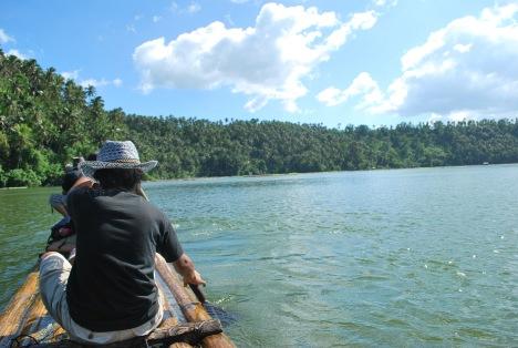 BatangRizal Adventure Team members exploring Calibato Lake