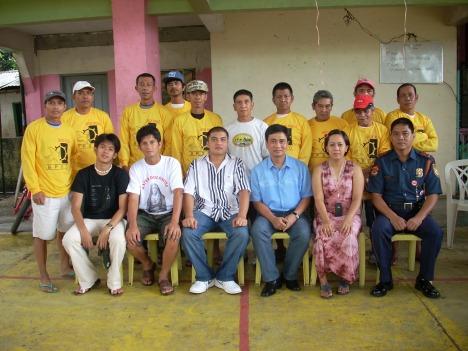 Barangay Tanod uniform distribution