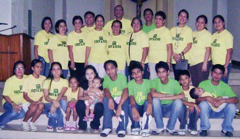 """'08 Rizal Town Fiesta Hermanos/Hermanas """"LUCY & ELSIE CUISINE"""""""