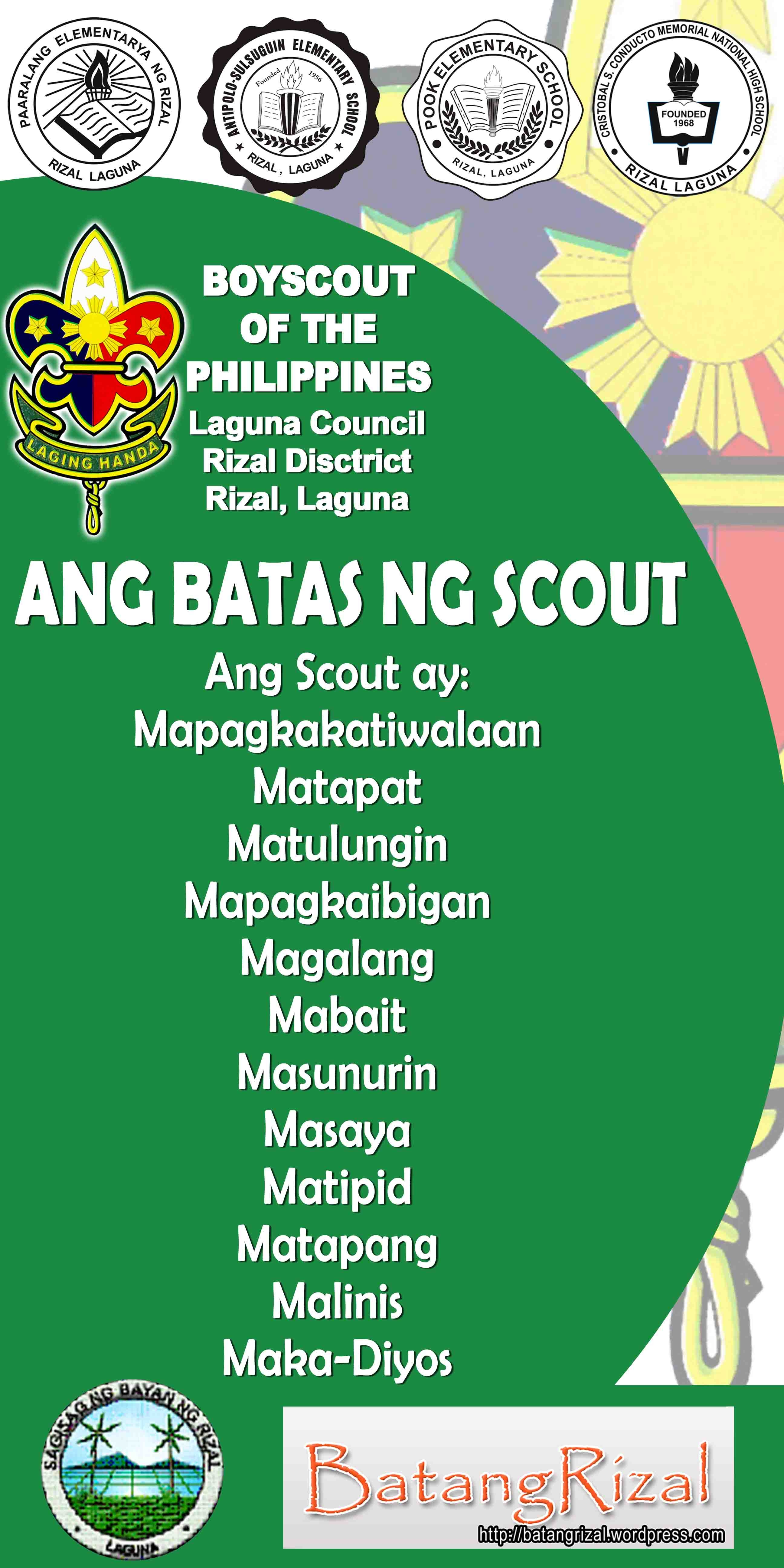 boy scout of the philippines oath and law pdf