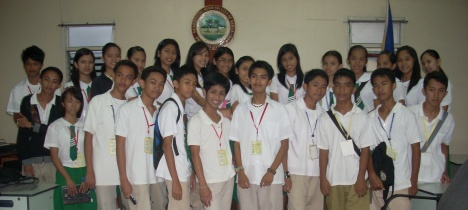 "High School students as Elective and Appointive Officials during the Linggo ng Kabataan ""Boy's & Girl's Week"""