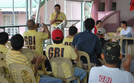 "PGGF Reynaldo ""Hunter"" Paras delivers his message"