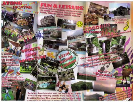 Rizal, Laguna's Promotional Brochure