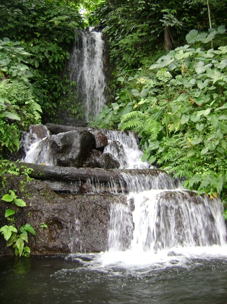 Scenic Beauty Of LUMALAGALAS FALLS located at Brgy Tala Rizal, Laguna
