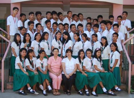 Graduating Class IV-Scarlet
