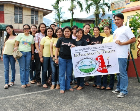 BatangRizalOrganization (BRO) / BatangRizal Educators Team (BRET)