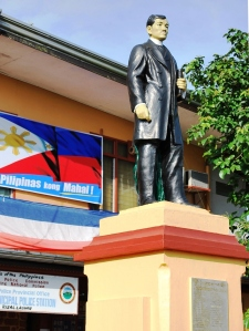 Statue of Dr. Jose P. Rizal
