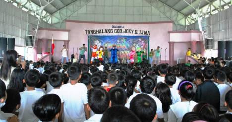 BIDA Caravan at Rizal Elementary School