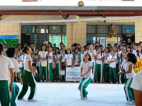 CSCMNHS Intramurals '09 In Action