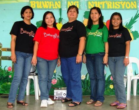 "BatangRizal t-shirt endorsers ""Mabuhay"""