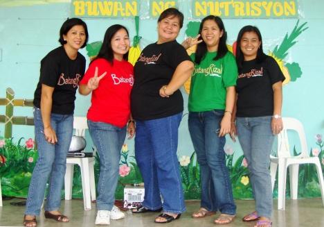 Proudly BatangRizal Org. (BRO) / BatangRizal Educator's Team (BRET) of Pook Elementary School doning BatangRizal t-shirt